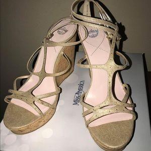 Size 11 Wedge Sandal (Brand New)